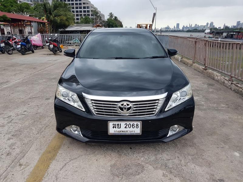 ขาย 2012 TOYOTA CAMRY  -  CAMRY 2.5 G รถสวยสีดำไม่โทรม ภายในสะอาดเรียบร้อย