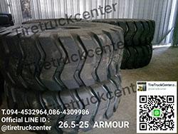 ยางรถรถตัก 26.5-25  ARMOUR  มีของพร้อมจัดส่งจร้า   สนใจติดต่อสอบถาม 094-4532964,086-4309986