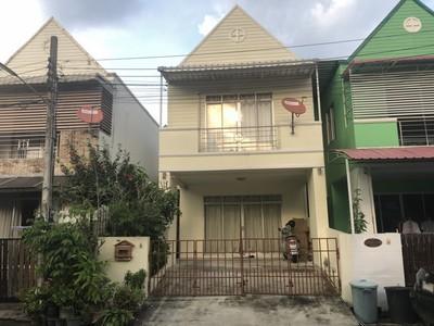 ขายบ้านมณฑล2 ซอยเพชรเกษม68 แยก25 บ้าน 2ชั้น 24ตารางวา ราคาไม่แพง A