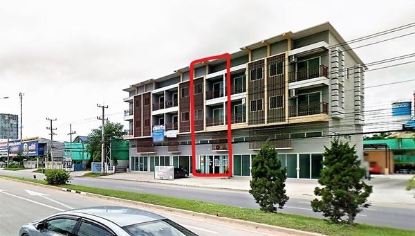 ขายอาคารพาณิชย์ ตรงข้ามโรงแรมดุสิตหัวหิน ติดถนนเพชรเกษม (ขาขึ้นกรุงเทพ)