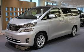 Toyota Vellfire รถยนต์สุดหรู
