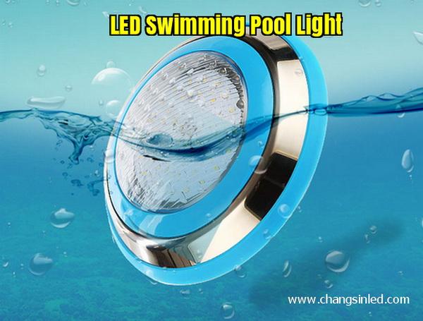 โคมไฟ LED สระว่ายน้ำ Pool Light พร้อม รีโมทคอนโทรล
