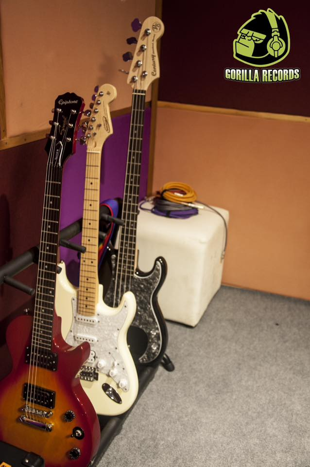 ห้องซ้อม Gorilla Records ยะลา ห้องซ้อมดนตรี จำหน่ายอุปกรณ์ดนตรี เครื่องดนตรี