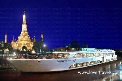 รับจองเรือดินเนอร์ เรือล่องแม่น้ำเจ้าพระยา เรือแกรนด์เพิร์ล ราคาพิเศษ !!!