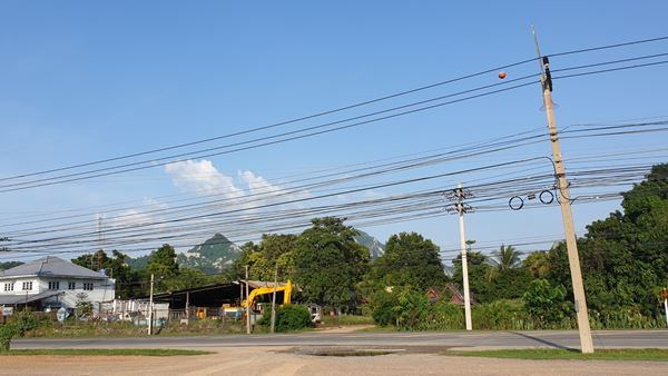 ขายที่ดิน จ.สระบุรี 4 ไร่ หรือแบ่งขาย 2 ไร่ ติดถนน 4 เลน ถ.พระพุทธบาท-ท่าเรือ หน้ากว้าง 65 ม.