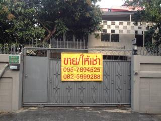 ให้เช่าด่วน บ้านเดี่ยว 2 ชั้น ตรงข้ามพันธุ์ทิพย์ งามวงศ์วาน ราคาถูก