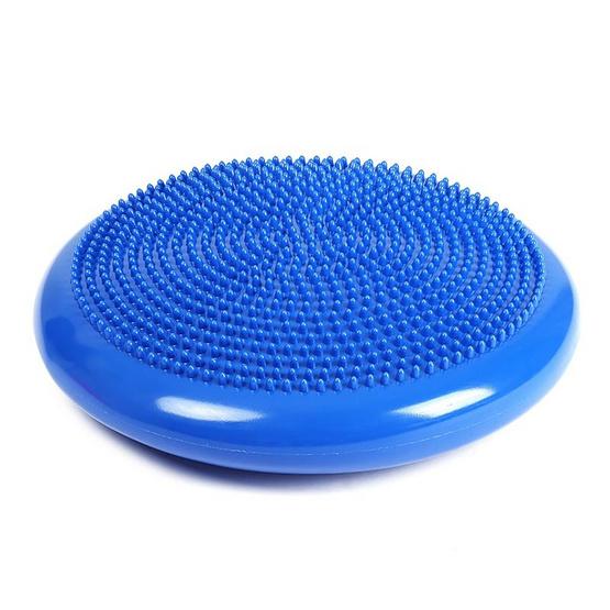 a bloom เบาะรองสำหรับฝึกการทรงตัว Balance Pad Massage Disk สีน้ำเงิน