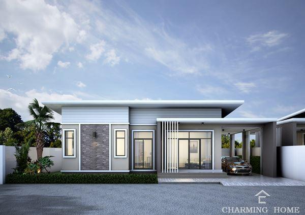 ขายบ้านเดี่ยว 1 ชั้น โครงการชามมิ่งโฮม ( Charming Home) ท่าโพธิ์ เมืองพิษณุโลก