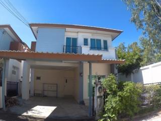 ขายบ้านเดี่ยว 2 ชั้น ม.ธาดาทาวน์ 46.4 ตารางว า หลังมุม (บางพระ ศรีราชา ชลบุรี) บ้านสวย บรรยากาศดี น่าอยู่มาก ราคาไม่แพง