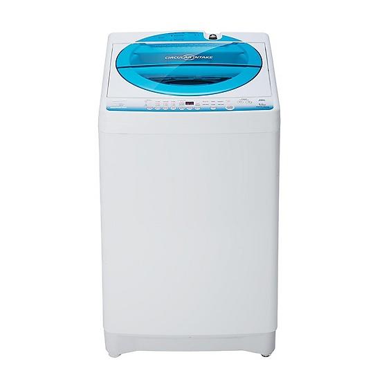 Toshiba เครื่องซักผ้าฝาบน ความจุ 8 kg. รุ่น AW-E900LT(WB)