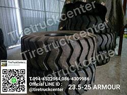 รีบจัดด่วนๆจร้า ยางรถตักใหม่ 23.5-25  ARMOUR  ราคาโปรถูก สนใจติดต่อ 094-4532964,086-4309986