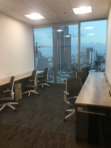 Private office for +6 people Ready to use office  Located on South Sathorn Road