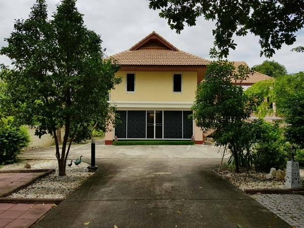 ขายบ้านพร้อมที่ดินใจกลางเมืองนนทบุรี บ้านสองชั้นพร้อมที่ดินขนาด 1 ไร่ 21 ตร.ว.