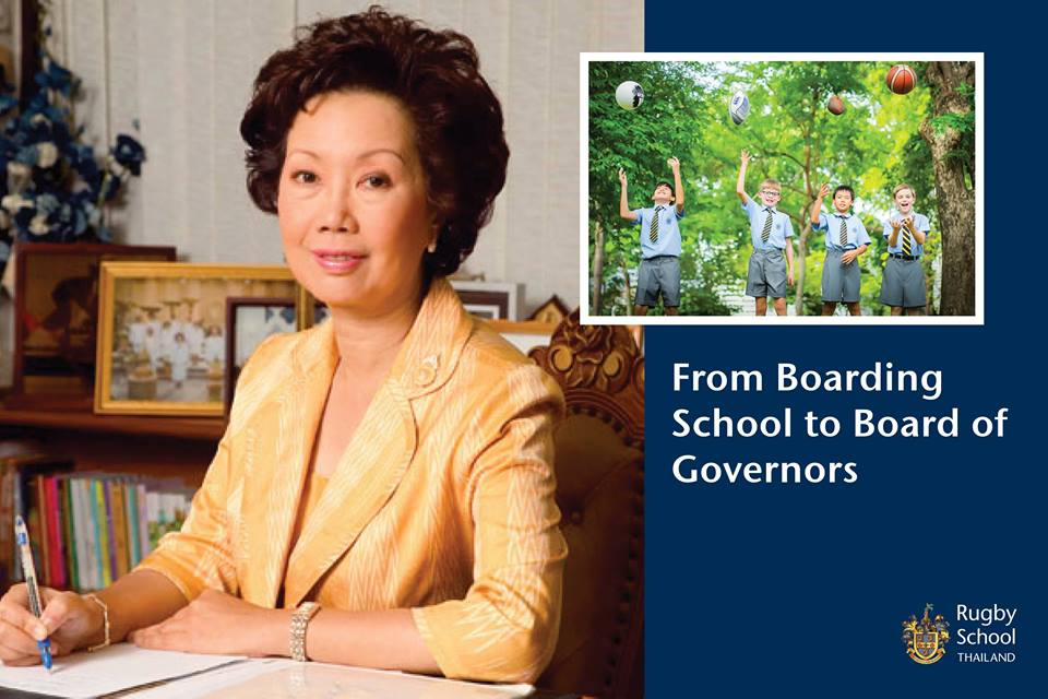 From Boarding School to Board of Governors