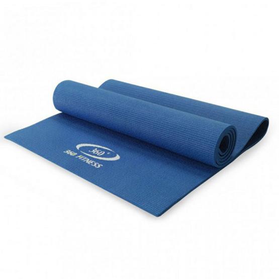 360 Fitness เสื่อโยคะ PVC รุ่น MB-32000 หนา 6 มิลลิเมตร สีน้ำเงิน