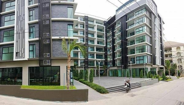ขายคอนโด siam Oriental Plaza ขนาด 35.18 ตร.ม. อยู่ที่พัทยาใต้ วิวสวยใกล้ทะเล