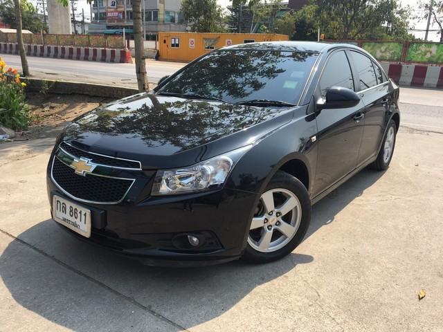 ไม่มีชนสวยกริบวิ่งน้อย ขายรถใช้คนเดียว Chevrolaet Cruze 1.8 LS AUTO 2011สีดำ