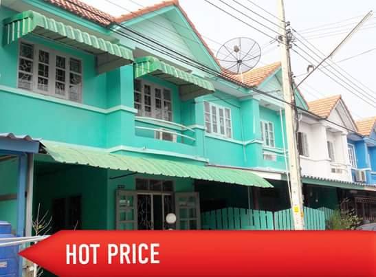 บ้านพร้อมอยู่ ขายบ้านราคาขาดทุน 1.39 ล้าน ซอยบ้านกล้วย-ไทรน้อย นนทบุรี รถไฟฟ้ามาถึงแล้ว