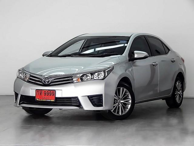 ขายรถมือสองTOYOTA VIOS 1.5E เกียร์AT สีบรอนซ์ ปี2014