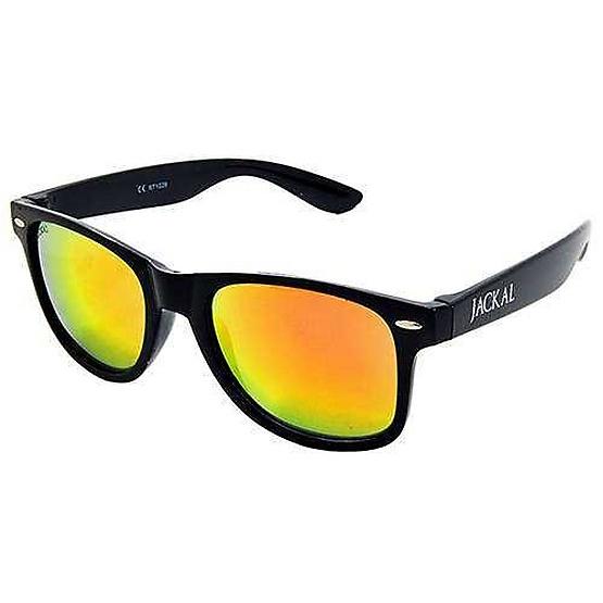 แว่นกันแดด Jackal รุ่น JS003 BK Frame /Gold-Red Mirror Lens