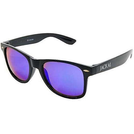 แว่นกันแดด Jackal รุ่น JS002 BK Frame /Ice-Blue Mirror Lens