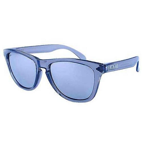 แว่นกันแดด Jackal รุ่น JS050 Transparent Gray Frame / Sliver Mirror Lens