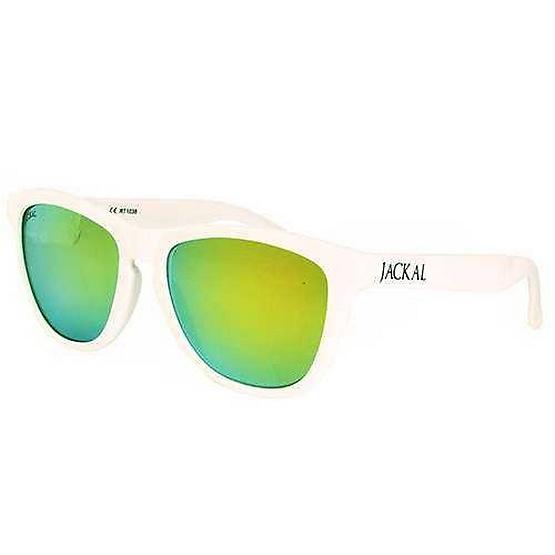 แว่นกันแดด Jackal รุ่น JS056 กรอบ WH / Gold Mirror Lens