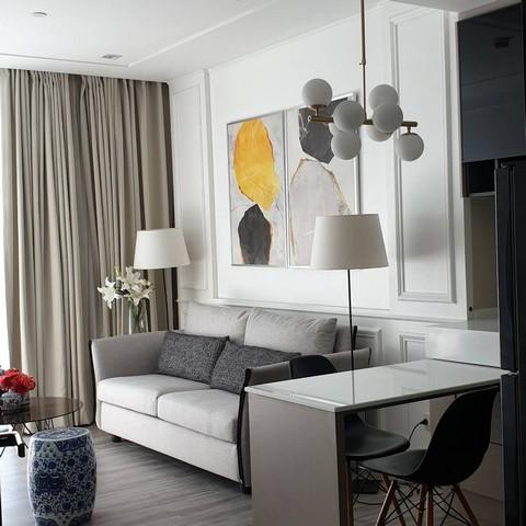 ขายคอนโด 333 Riverside (333 ริเวอร์ไซด์) 1 ห้องนอน 1 ห้องนั่งเล่น ชั้น 24 วิวเมือง ขนาด 46 ตรม.