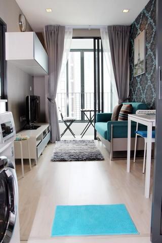 ให้ใช่คอนโด Ideo Mobi Sathorn For Rent 1นอน 30.35 ตรม 16000 ติด BTS Krungthon Fully Furnished