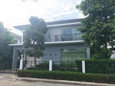 ให้เช่า บ้านเดี่ยว 2 ชั้น Perfect Place เพอร์เฟค เพลส แจ้งวัฒนะ บ้านใหม่ เดินทางสะดวก ใกล้ทางด่วน