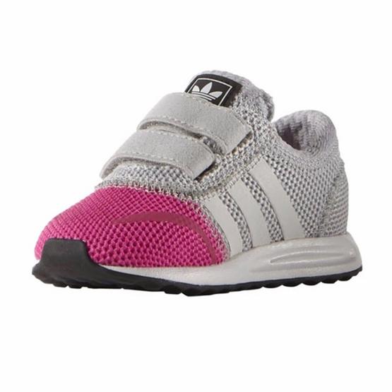 ADIDAS รองเท้าเด็ก LOS ANGELES CF I S74885 เทา
