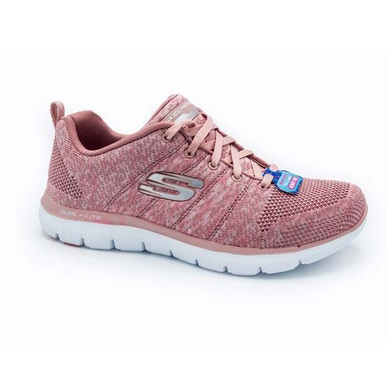 SKECHERS รองเท้าผู้หญิง รุ่น FLEX APPEAL 2.0 HIGH ENERGY 12756 / ROS