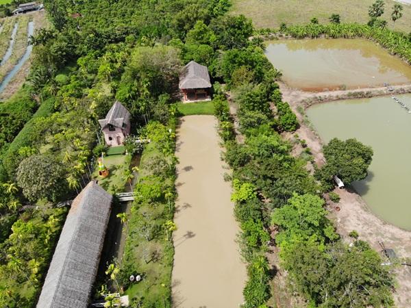 ขายที่ดินพร้อมกิจการและ สิ่งปลูกสร้าง อ.คลองเขื่อน จ.ฉะเชิงเทรา ใกล้แม่น้ำบางปะกง จ.ฉะเชิงเทรา