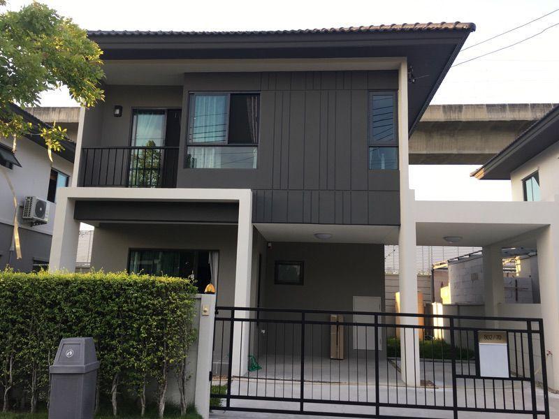 ให้เช่าบ้านเดี่ยว 2 ชั้น 3 ห้องนอน 2 ห้องน้ำ บ้านกลางเมือง The Edition Rama 9 – อ่อนนุช