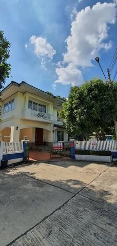 ขายหมู่บ้านฟ้าลากูน คลอง 2 บ้านเดี่ยว 2 ชั้น หลังมุม ถนน นครนายก-รังสิต