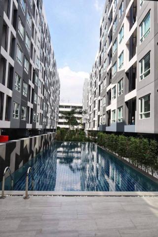 ขายคอนโดใหม่พร้อมผู้เช่า Regent home Sukhumvit 81 ตรงข้ามโลตัส อ่อนนุช ซอยเดียวกับ ห้าง century ห่างจาก BTS อ่อนนุช 750 เมตร (วิน 10฿ 24ชม)