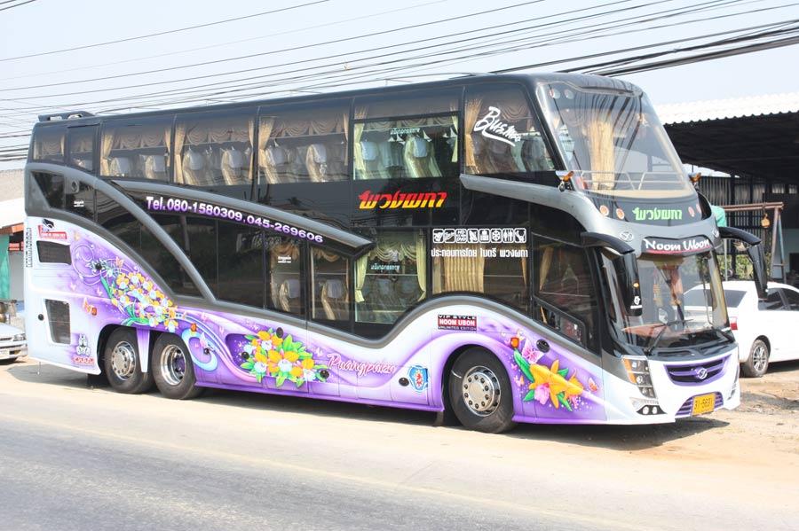 บริการเช่ารถบัส เช่ารถทัวร์ เช่ารถบัสปรับอากาศ  2 ชั้น