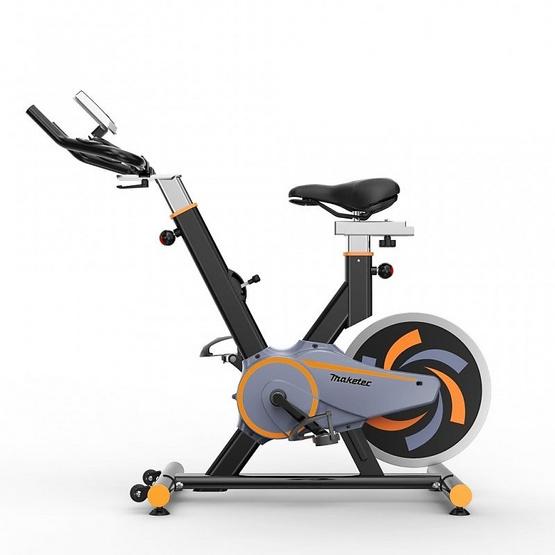 จักรยานนั่งปั่นออกกำลังกาย Spin Bike รุ่น JTS611-1 สีดำ 13KG.