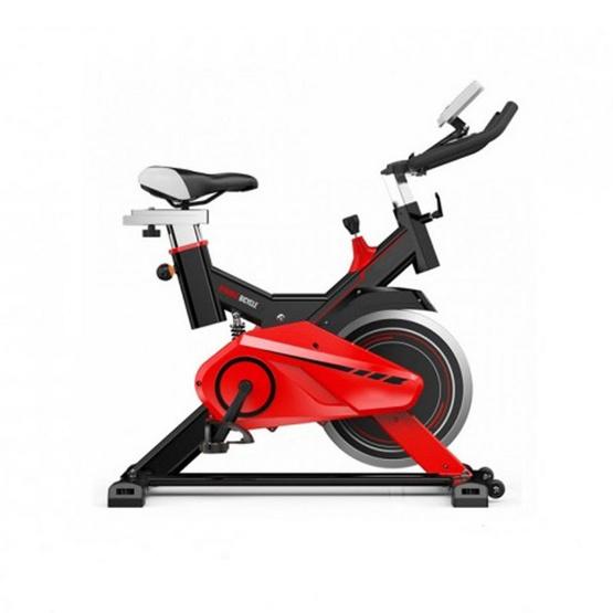 จักรยานนั่งปั่น Spin Bike x-sport รุ่น JTS615 สีดำ-แดง 13KG.