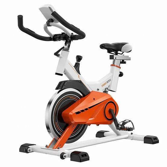 จักรยานนั่งปั่น Spin Bike x-sport รุ่น JTS615 สีส้ม-ขาว 13KG.
