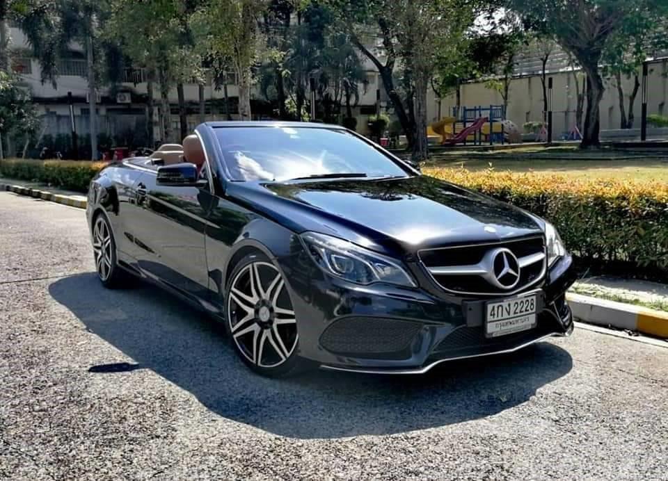 ขายรถมือสอง Benz #E200 Cabriolet AMG ทั้งคัน ราคาสุดพิเศษเพียง 2,090,000