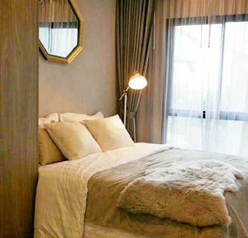 NTH025 ให้เช่าคอนโดห้องตัวอย่าง Notting Hill Sukhumvit -Praksa ตึกB ชั้น6 28ตรม.ห้องสวย ของครบ