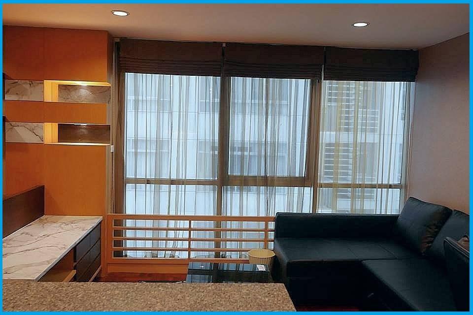 ให้เช่าคอนโด Asoke Place 2 ห้องนอน พร้อมอยู่ ใกล้ MRT สุขุมวิท