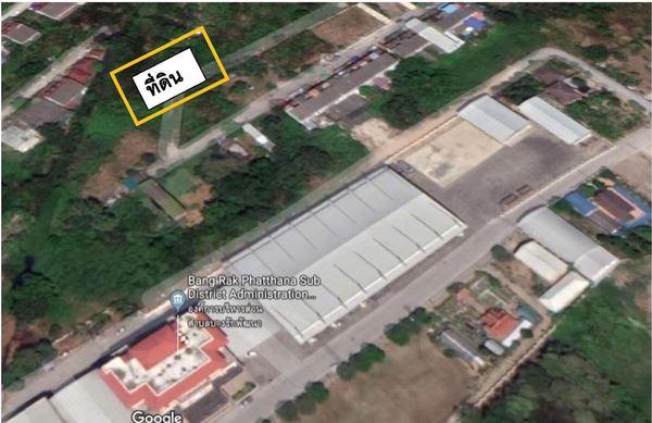 ขายที่ดิน ติด อบต.บางรักพัฒนา 173 ตรว. อ.บางบัวทอง จ.นนทบุรี (เจ้าของขายเอง)