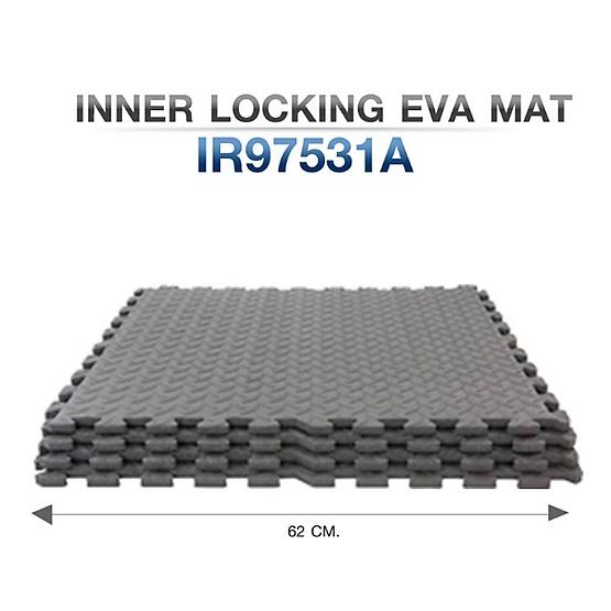 360 FITNESS แผ่นยางปูพื้น EVA สำหรับรองพื้นกันกระแทกและกันลื่น Inner Locking EVA Mat รุ่น IR97531A