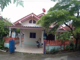 ขายบ้านเดี่ยว 40 ตรว หมู่บ้าน ฐิติภรณ์1 หนองมะนาว บางละมุง ชลบุรี บ้านสวยมาก บรรยากาศดี