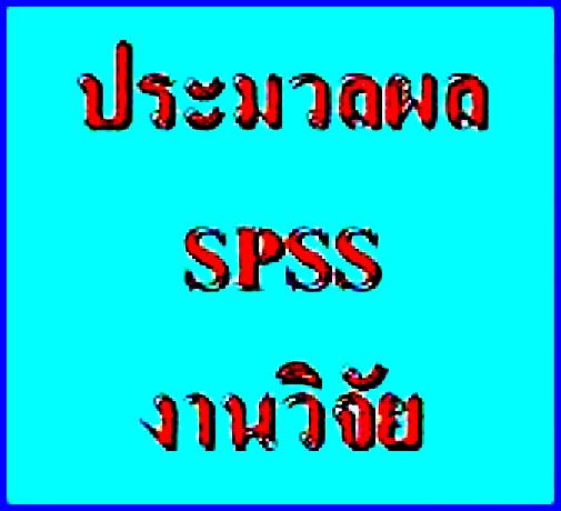 รับปรึกษาทำงานวิจัย วิทยานิพนธ์ แผนธุรกิจ รายงานวิชาต่างๆ และประมวลผลโดยโปรแกรม SPSS p0