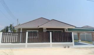 บ้านใหม่ โครงการบ้านปัณณ์สุข 2 บ้านเดี่ยว 1 ชั้น 3 ห้องนอน 2 ห้องน้ำ 63 ตรว.