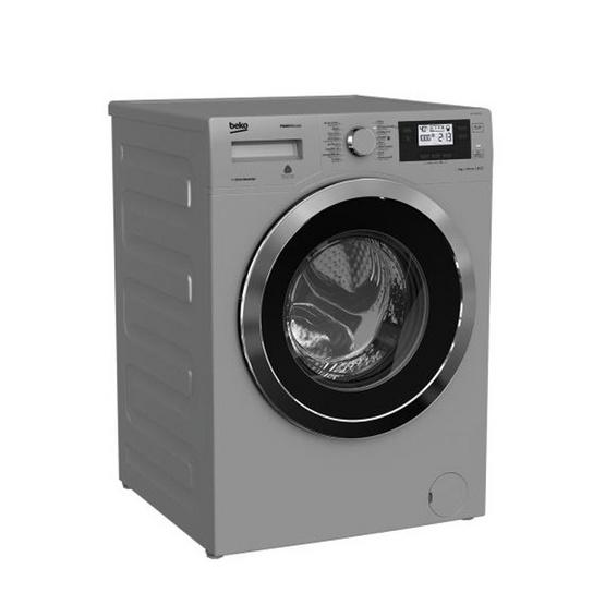 BEKO เครื่องซักผ้าฝาหน้า รุ่น WMY 91493 SLB1 (สีเงิน)