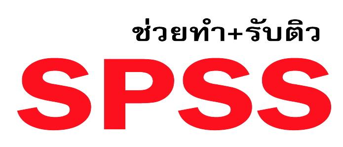 รับปรึกษาทำงานวิจัย วิทยานิพนธ์ แผนธุรกิจ รายงานวิชาต่างๆ และประมวลผลโดยโปรแกรม SPSS q6